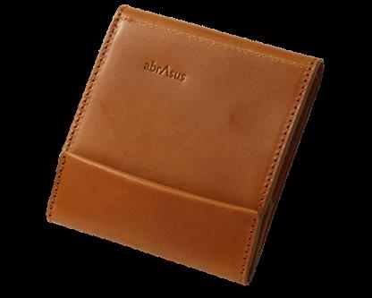 薄い財布ブッテーロレザーキャメルの元の色