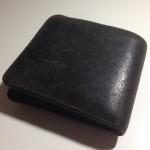 メンズ財布RENのスモーク・シリーズ 外ポケウォレット