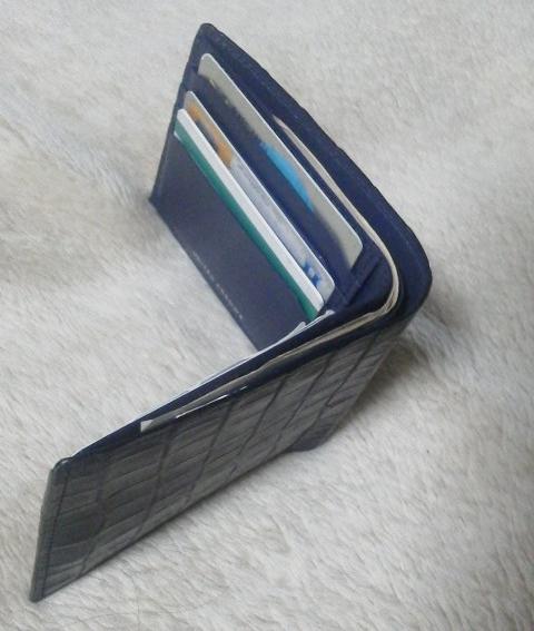 ユナイテッドアローズの財布ネイビー