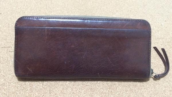 ヴィヴィアンウエストウッドメンズ財布の裏側