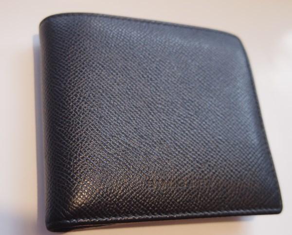 ブルガリの二つ折りメンズ財布