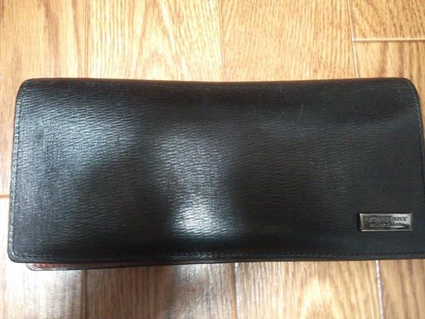 バーバリー ブラックレーベル長財布