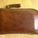 ヘルツ オルガンのダブルラウンドファスナー財布