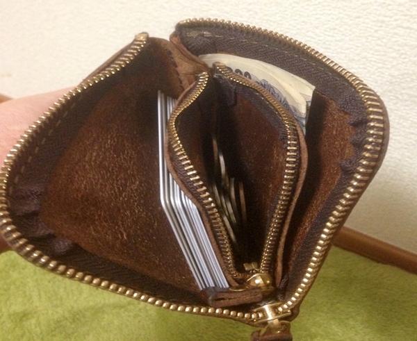 小さいのに抜群の収納力ヘルツメンズ財布