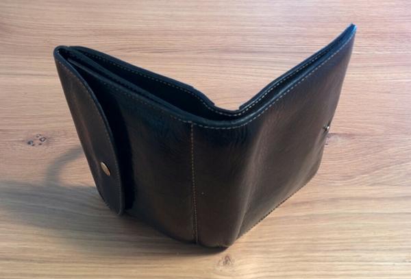 木の床帆布の財布を使った感想