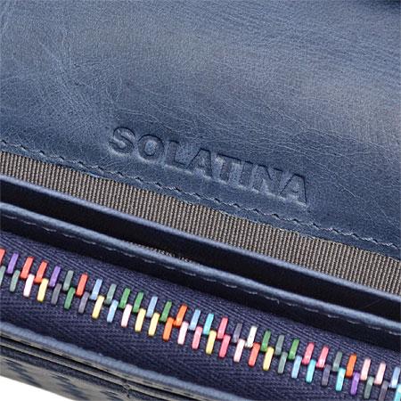 ririというスイス製のファスナーを使用しているソラチナ