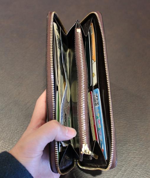 いつもの財布を見る角度