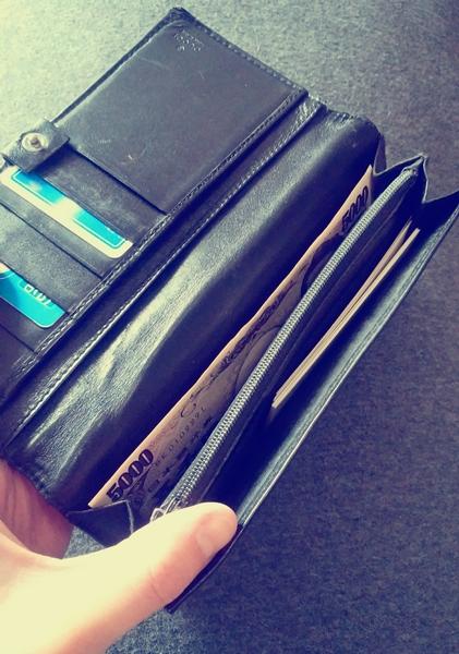 グッチシマ長財布の内装