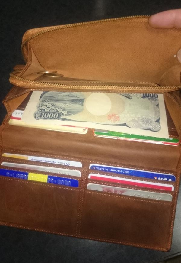 ラルクドサンベルナール長財布の機能面