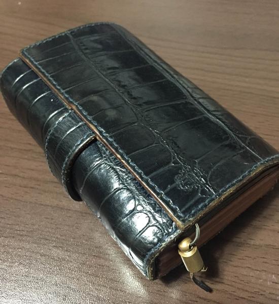 フェリージ(3500/SA)クロコ財布