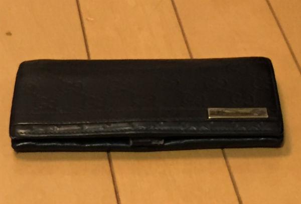 グッチ柄の長財布