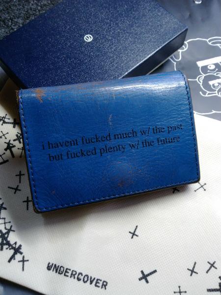 アンダーカバー革財布