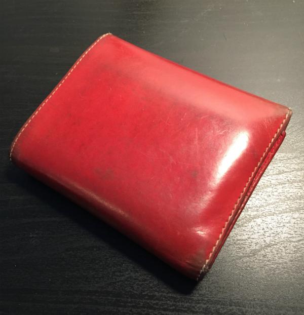 7f2056f440d0 ホワイトハウスコックスの三つ折り財布S1058を5年使った感想 ...