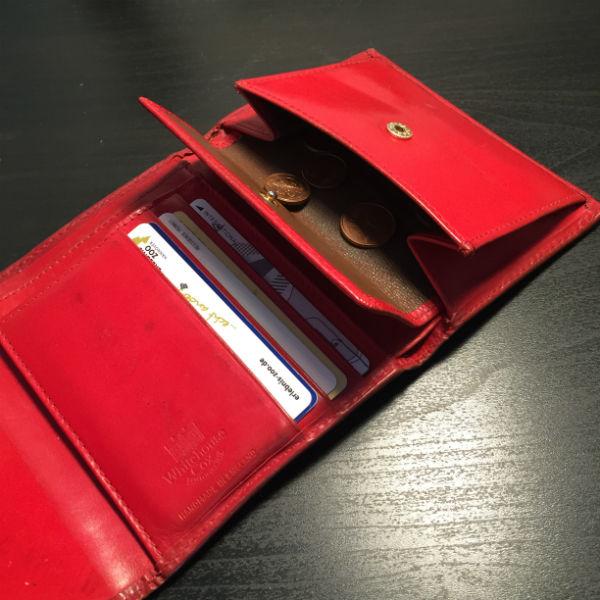 小銭が取り出しやすく、お札も沢山入る