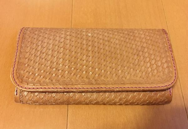 完全カスタムで作ったALZUNI(アルズニ)の長財布