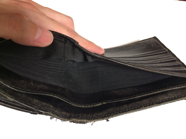 save off ea48f fd85a GUCCI(グッチ)高級財布を使い始めて15年経った詳細をレビュー ...