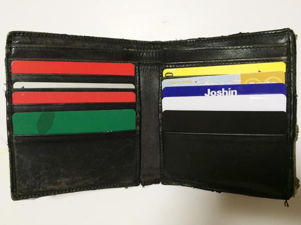 ポケットの大きさに入る財布