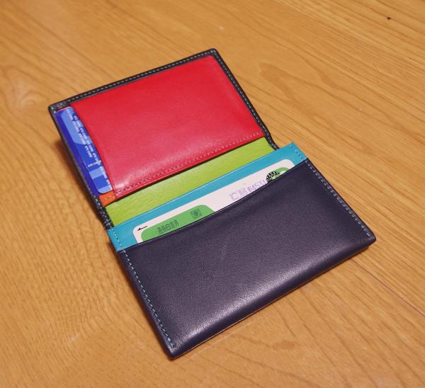 マイウォリットのカードケース