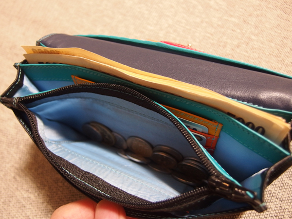 マイウォリット長財布を実際に使ってみて