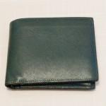 カミーユ・フォルネのサフィアーノ二つ折り財布