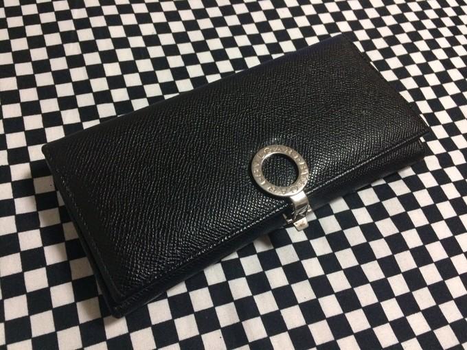 ブルガリ/BVLGARI長財布 No.30412のブラック