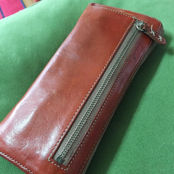 leatherーg(レザージー)メンズ長財布