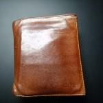 5年使ったBREE(ブリー)二つ折り財布