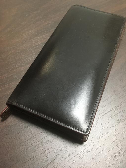 「GANZO」コードバン長財布