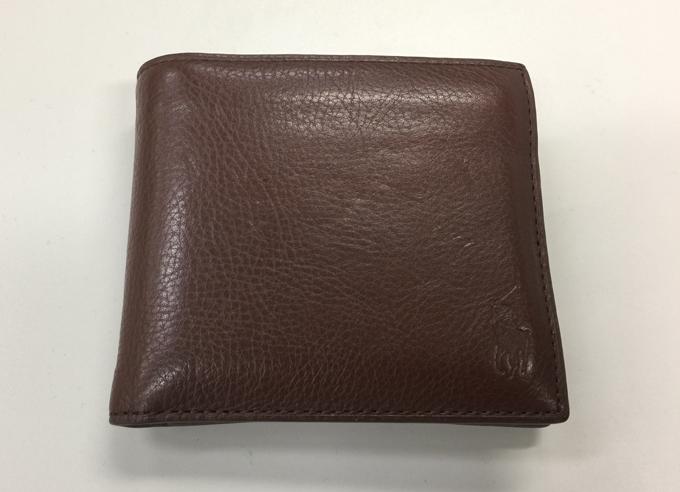 POLO Ralph Lauren(ポロ ラルフローレン)の二つ折り財布をレビュー
