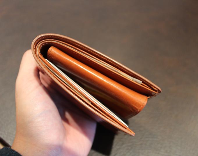 スタイリッシュな財布