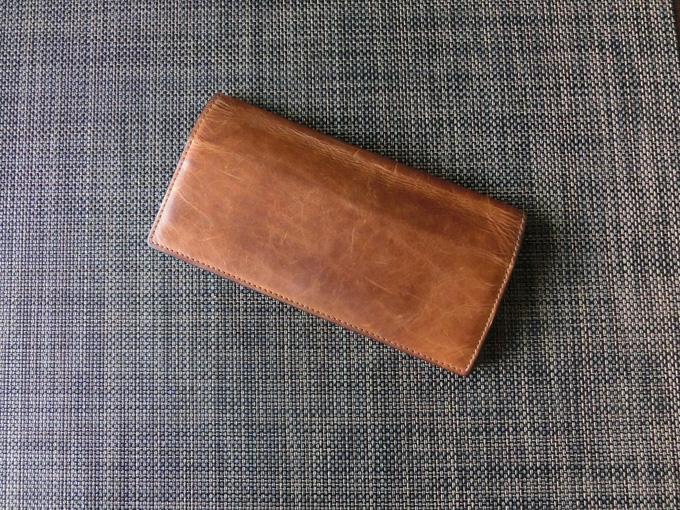 Loft(ロフト)オリジナルの牛革長財布