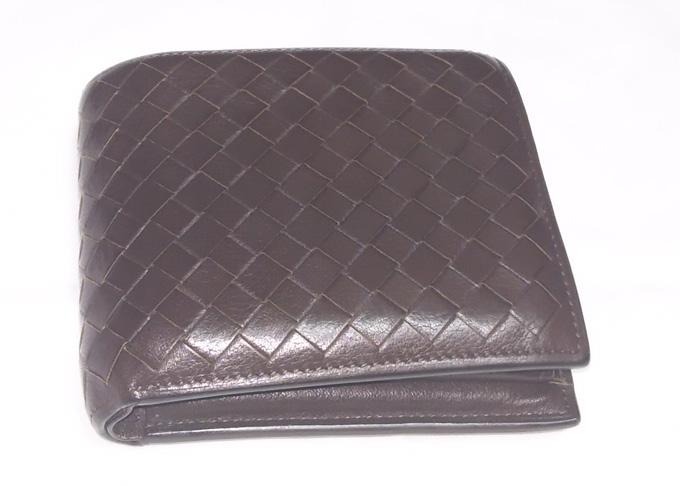 メンズ財布土屋鞄「ニッティング  メッシュフォールディングパース」
