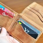 OLD NAVY(オールド・ネイビー)で購入したアメリカの二つ折り財布