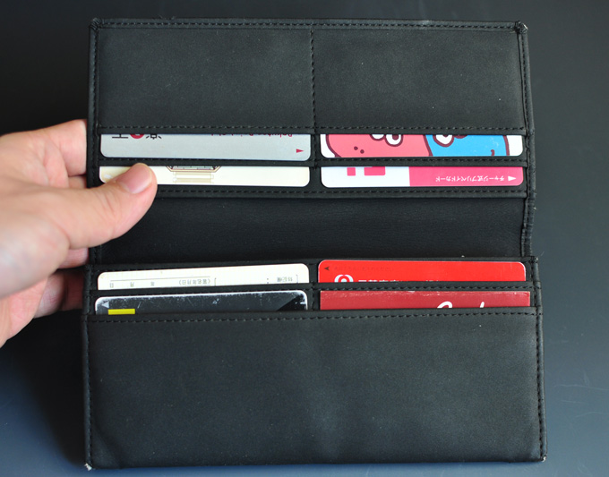カード収納が便利