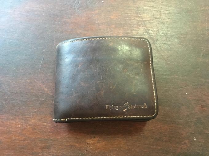 コスパ最高の本革二つ折り財布「Flying Scotsman」