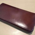 P.I.D vasto コードバン長財布を3年使用した感想