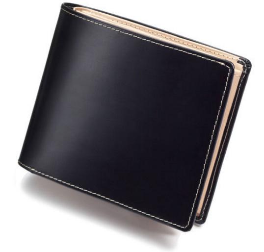 楽天年間ランキング受賞の本革メンズ二つ折り財布