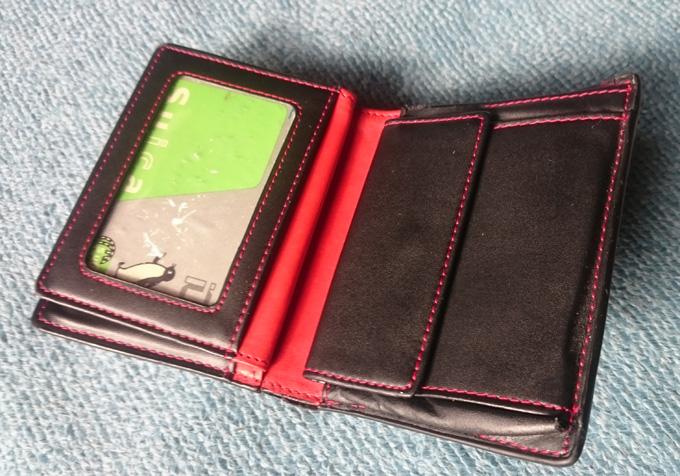 ヴォイス二つ折り財布の気に入ってるところ