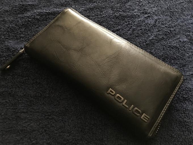 POLICE(ポリス)EDGE(エッジ)ブラック長財布