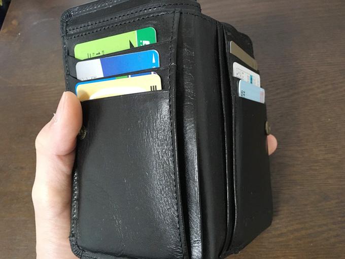 メモ紙もいれられる!カード以外も収納可能!