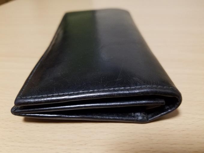 ブライドルレザー財布の使用感