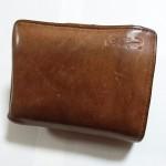 ワニのマークでお馴染みのcrocodile(クロコダイル)二つ折り財布