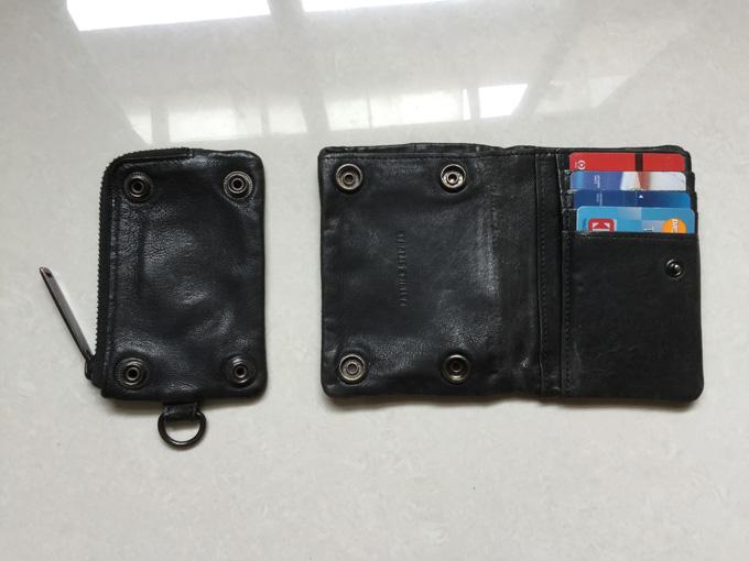コインケースがお財布本体から脱着可能