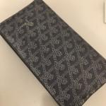 Goyard(ゴヤール)の人と違う尖った二つ折り長財布
