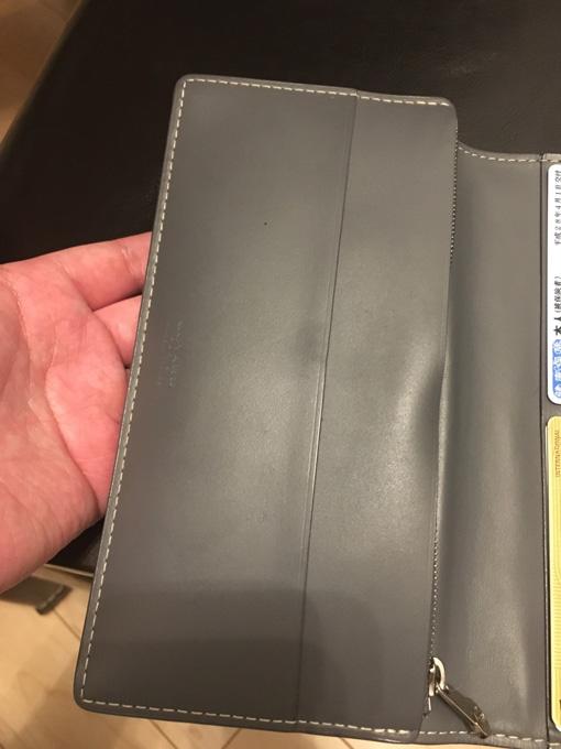 ゴヤールの財布は丈夫