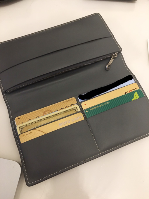 online store 2386b e525c Goyard(ゴヤール)の人と違う尖った二つ折り長財布を使用した ...