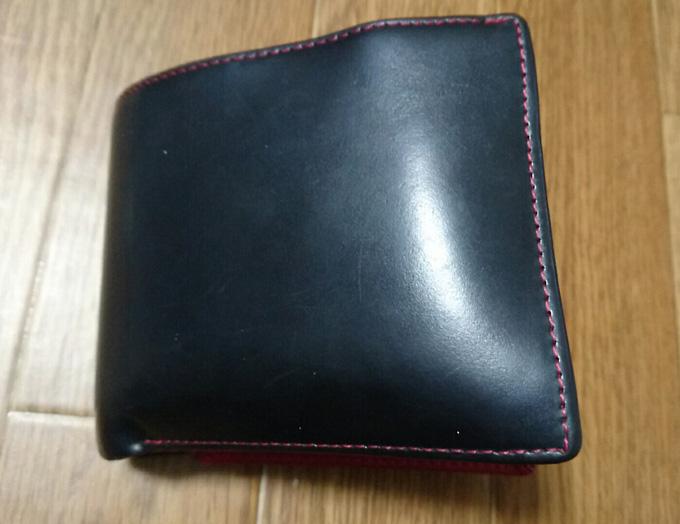 2年使ったMaturi(マトゥーリ)のエグゼクティブコードバン二つ折財布