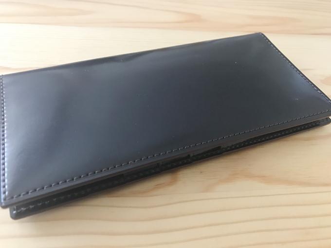 GANZO(ガンゾ)のシェルコードバン長財布