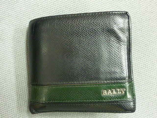 BALLY二つ折り財布
