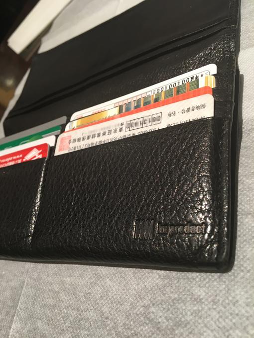 カード類をお財布に入れたい人には不便かも